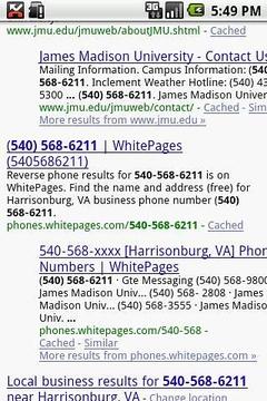 Google员工的陌生号码测试版