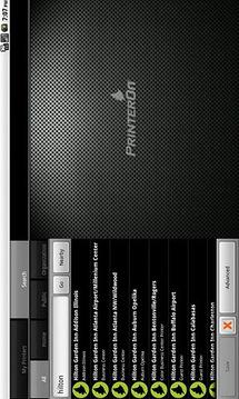 PrinterOn - Tablet