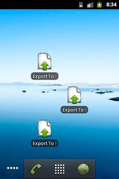 Export To File or Gmail