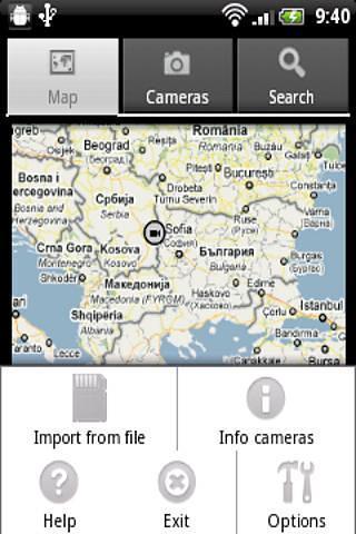 我的相机地图