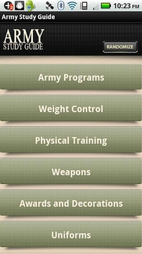 Army Study Guide Locked
