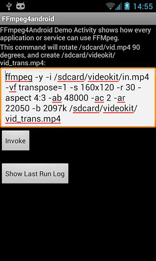 FFmpeg 4 Android