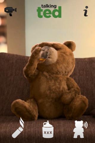 小熊喝酒矢量图