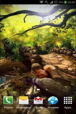 奇幻森林3d壁纸