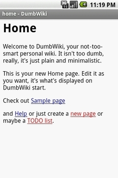 DumbWiki