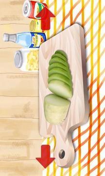 为孩子们的水果和蔬菜