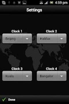 世界时钟 World Clock