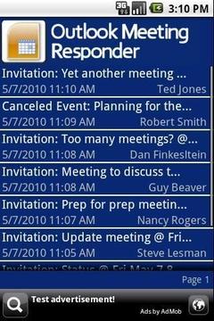 Outlook Meeting Responder