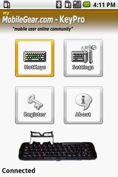 键盘 – android试验版