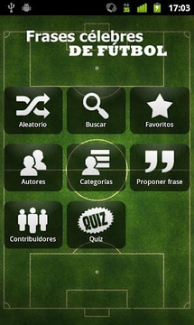 Frases célebres de Fútbol