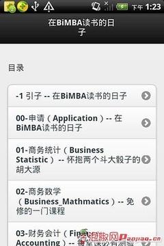 在BiMBA读书的日子