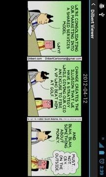 Quick Dilbert Reader