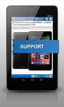 Drippler Nexus 7 更新和新闻(英文)