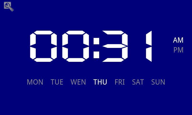 1890次下载  |  221kb 怀旧电子表是一款以超大数字来显示时间及星期