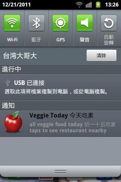Veggie Today 今天吃素