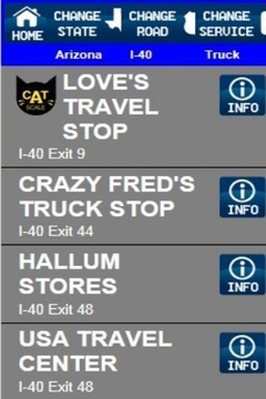 Truck Stops And Services