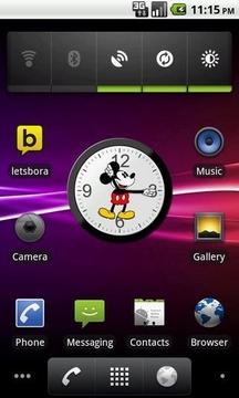 米老鼠模拟时钟