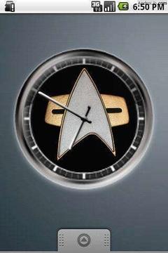 时钟控件4X4的星际旅行
