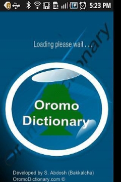Oromo Dictionary