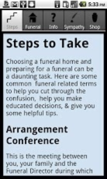 Funeral Advice