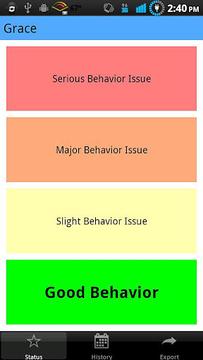 行为现状(Behavior Status)