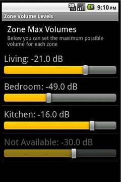 Yamaha Receiver Widget