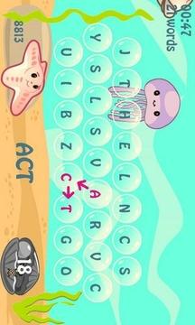 拼写海的文本游戏