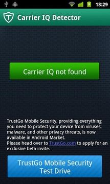 TrustGo载波智商探测器