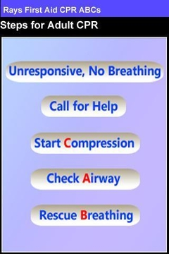Rays First Aid CPR ABCs