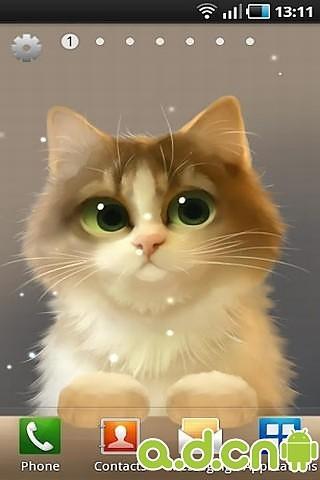 壁纸 动物 狗 狗狗 猫 猫咪 小猫 桌面 320_480 竖版 竖屏 手机