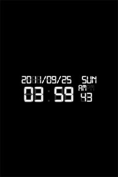 Digital Clock Wallpaper Free