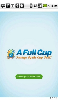 AFullCup Grocery Coupon Forum