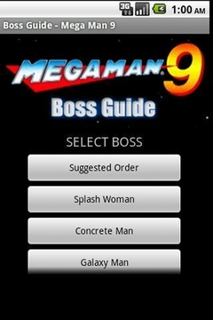 Mega Man 9 Boss Guide
