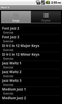 iReal b乐谱软件