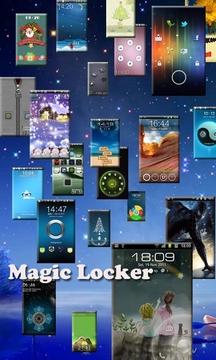 魔力锁屏主题-玻璃