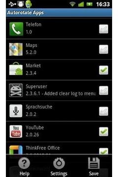 AutoRotate Apps