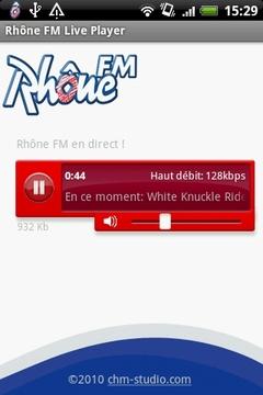 Rhône FM Live Player
