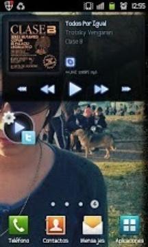 PowerAMP Share Widget