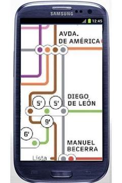 马德里地铁地图