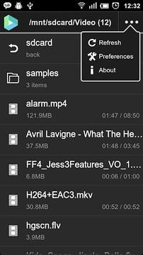 VPlayer Codec ARMv6VFP