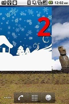 Holiday Countdown Widget
