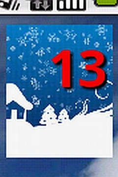 Holiday Countdown Widget