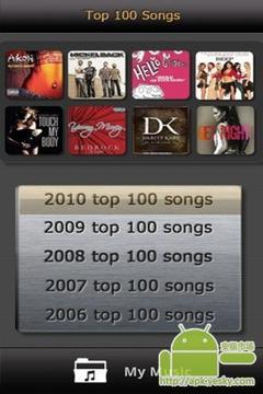 免费音乐年的热门歌曲