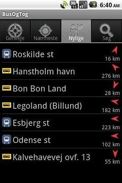 公共汽车和火车