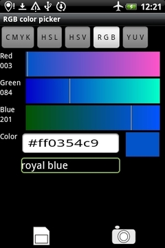 Rgb Color Picker