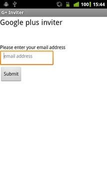 Google Plus Inviter