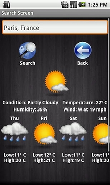 Weather For Droid