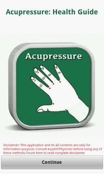 Acupressure: Health Guide