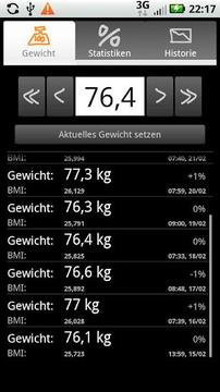 体重跟踪器(Droid Weight)