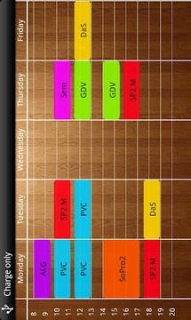Timetabler Class Schedule